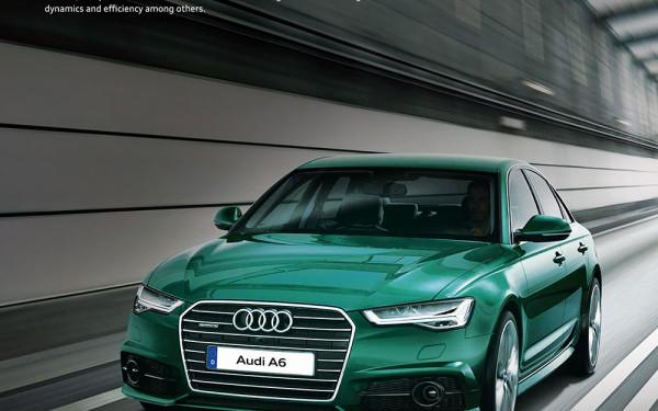 Audi A6 Saloon Thumbnail Image