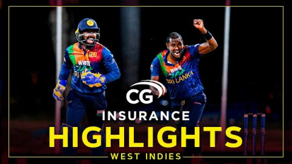 Highlights | West Indies v Sri Lanka | Hasaranga Stars Despite McCoy Flourish |2nd CG Insurance T20I